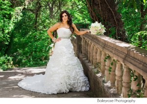 Bridal Portrait by BaileyRose Photography at Laguna Gloria