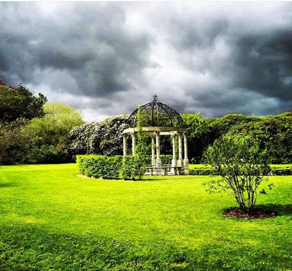 Ballyseede Castle Garden Gazebo Kerry Ireland