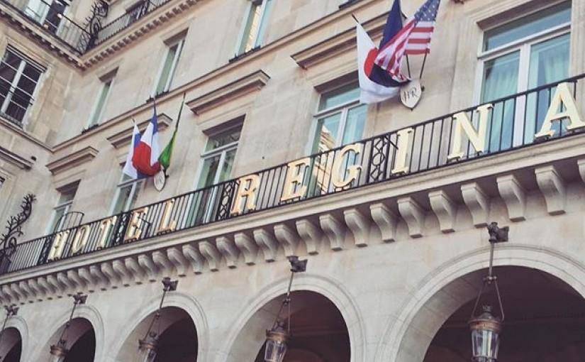 Hotel Regina Arches Paris France