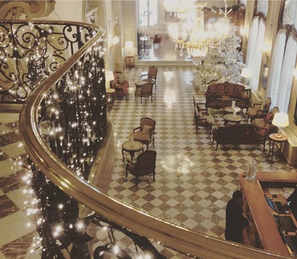 Hotel Regina Lobby Paris