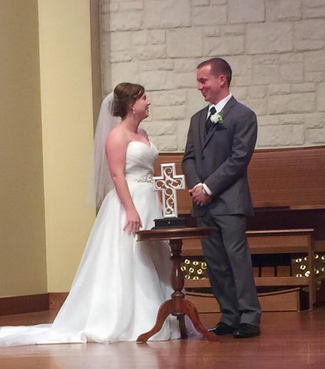 Tirzah Central Texas Wedding Josh and Ashley Champ UMHB Manning Chapel Unity Cross Ceremony