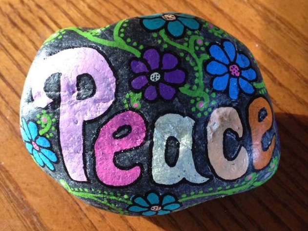 Tirzah Belton Rocks Drop A Rock Peace