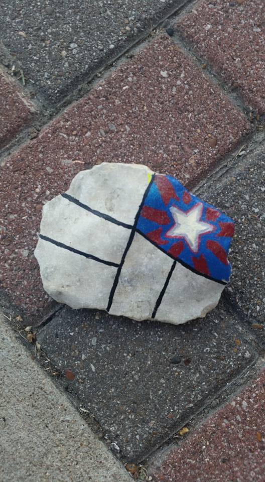 Tirzah Belton Rocks Quilt Rock1