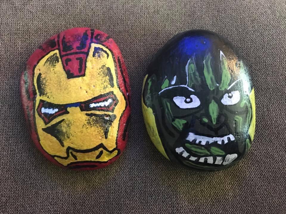 Tirzah Belton Rocks Super Heros
