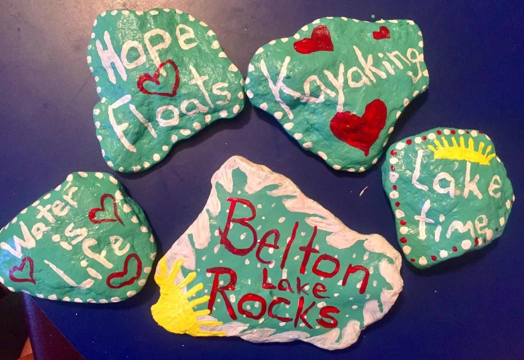 Tirzah Belton Rocks Belton Lake
