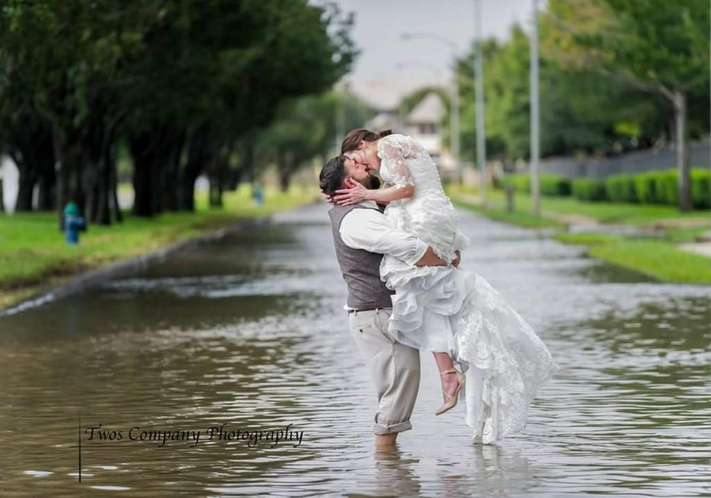 Hurricane Harvey Texas Wedding