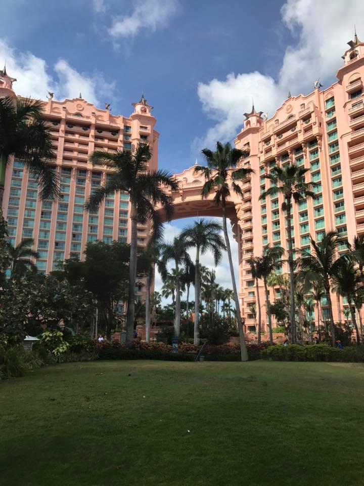 Champ Wedding Honeymoon Bahamas Atlantis