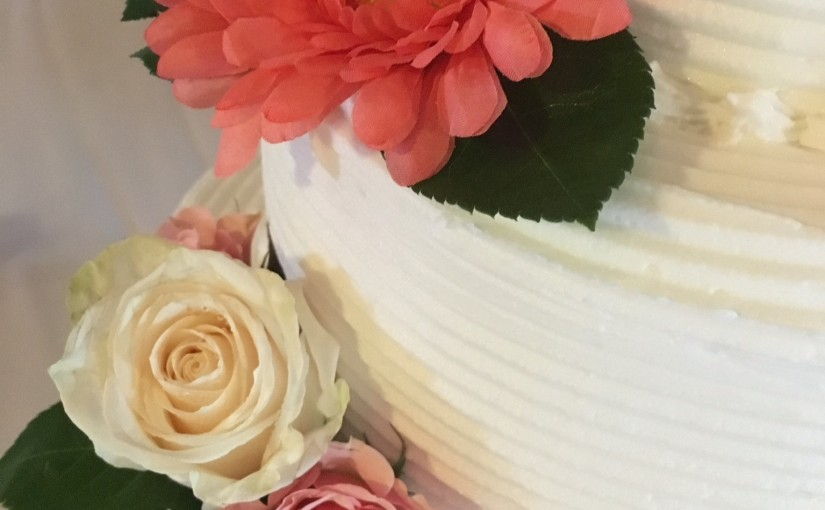 Weddings by Tirzah Central Texas Wedding Josh and Ashley Champ Wedding Cake
