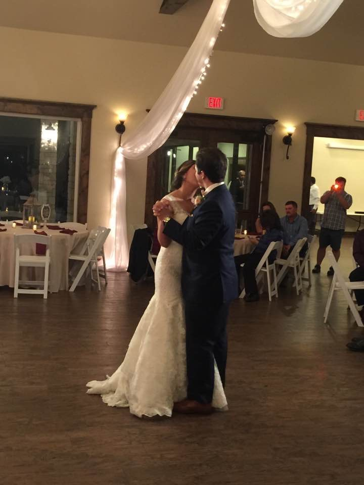 Weddings by Tirzah Central Texas Wedding Josh and Christine Marin Wedding First Dance
