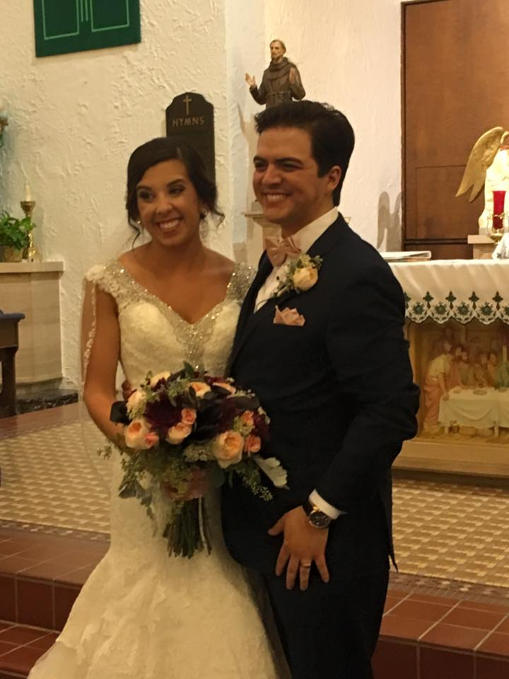 Weddings by Tirzah Central Texas Wedding Josh and Christine Marin Wedding St Mary's Church