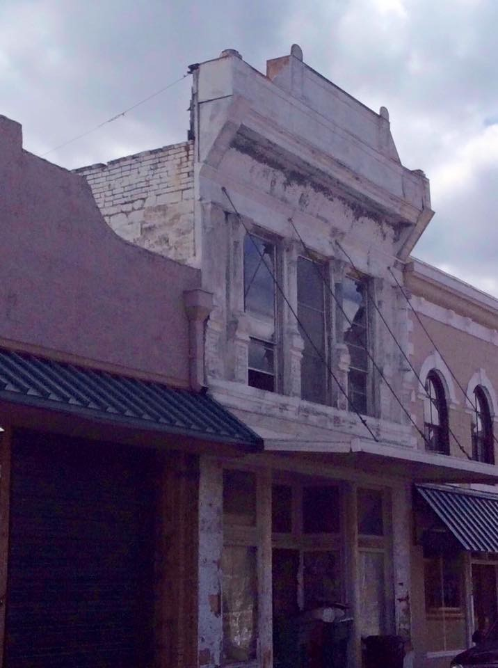 Tirzah Historic Building Before Restoration Venue Belton Texas