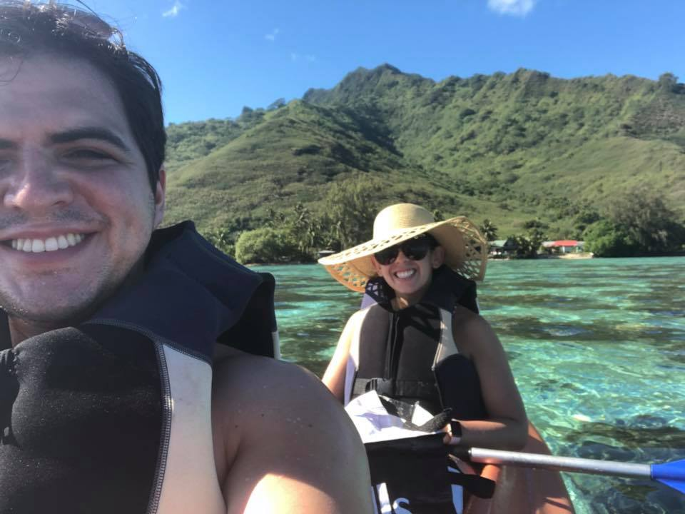 Honeymoon - Bora Bora and Moorea - Kayaking