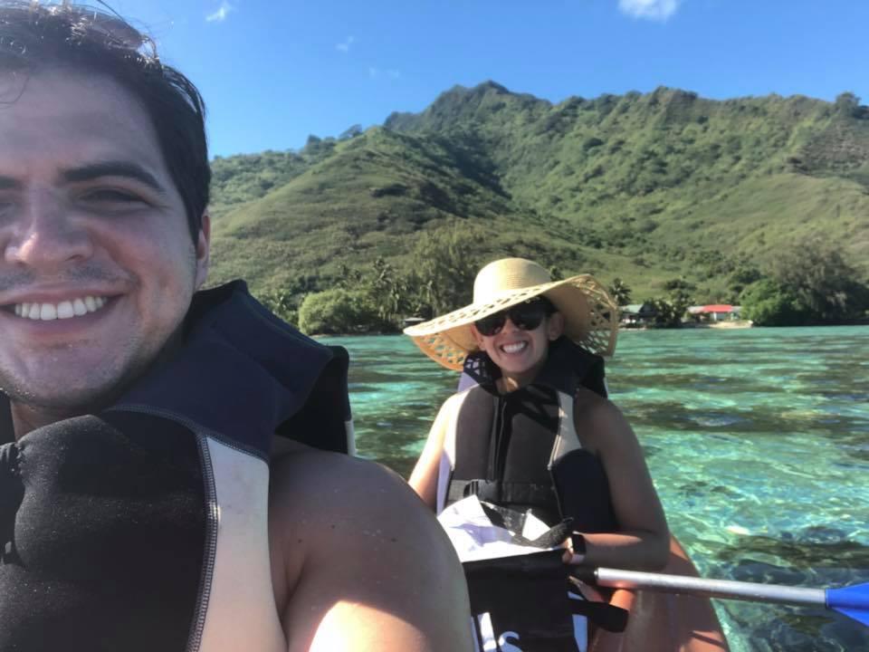 Honeymoon - Bora Bora and Moorea - Kayaking