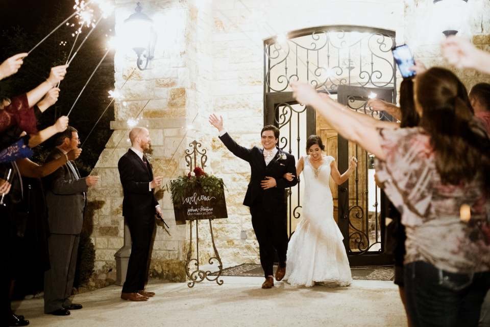 Sparkler Send Off - Weddings by Tirzah
