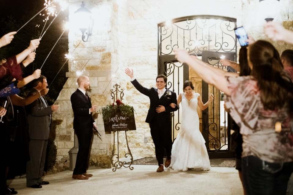 Sparkler Send Off - Weddings by Tirzah