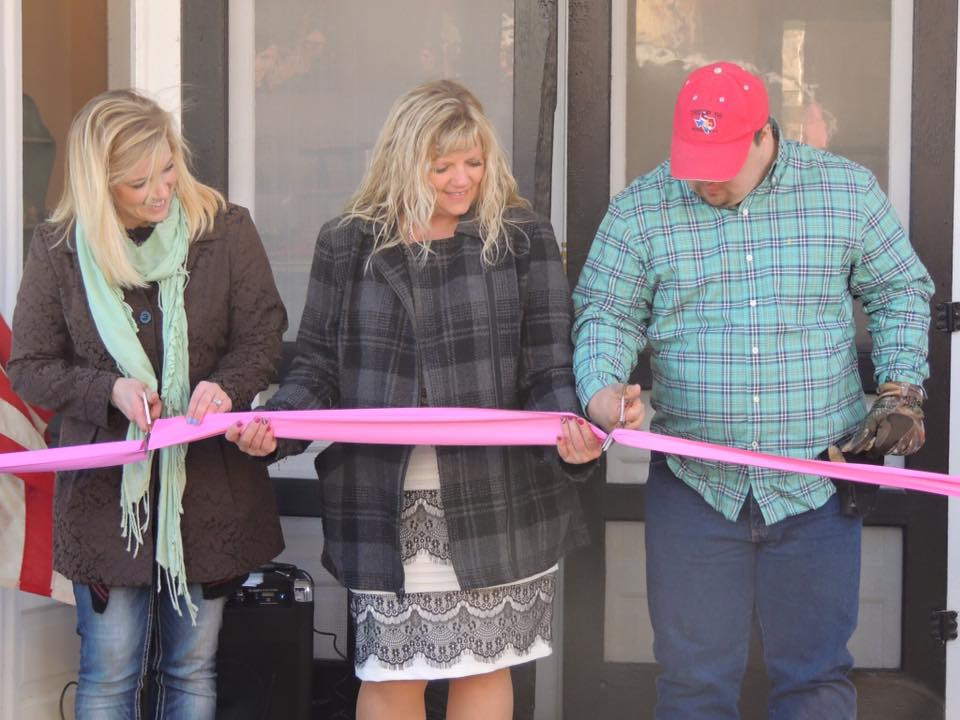 Tirzah Ribbon Cutting Ceremony - Diana Cory Candice - The ActualCutting of the Ribbon