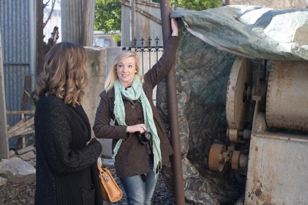 Tirzah Ribbon Cutting Ceremony - Artifacts Giant Baker's Mixer