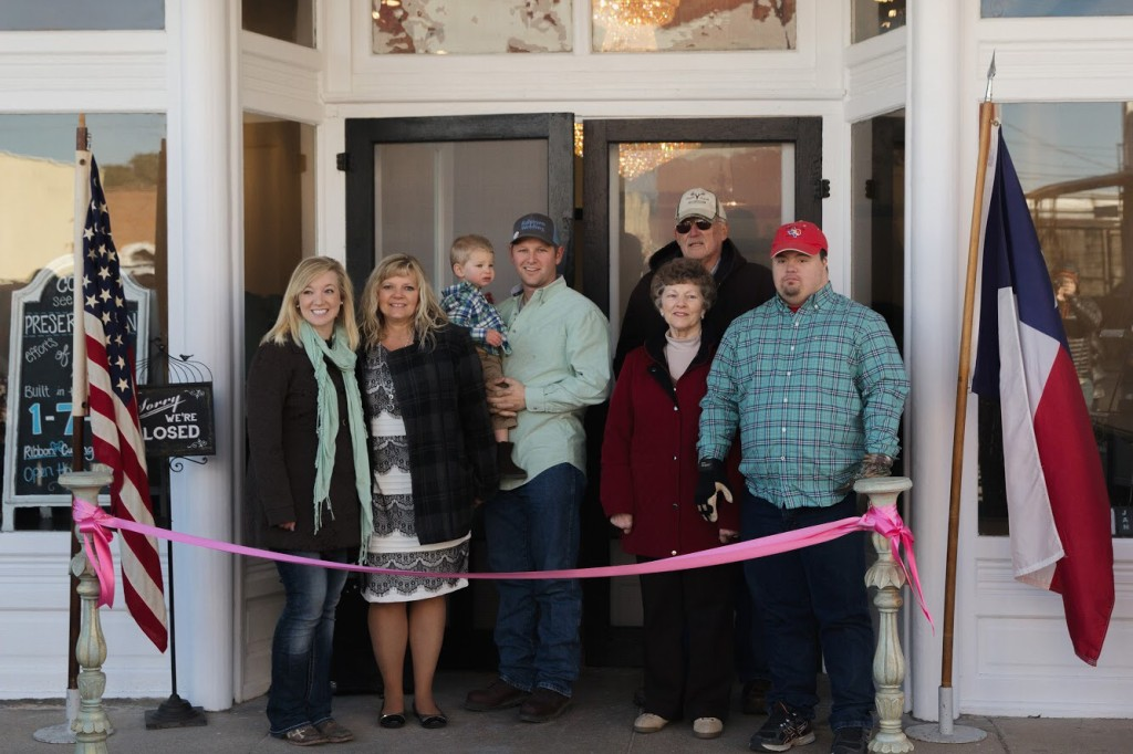 Tirzah Ribbon Cutting Ceremony - Circle of Strength Family