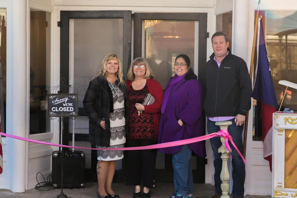 Tirzah Ribbon Cutting Ceremony - Downtown Belton Merchants