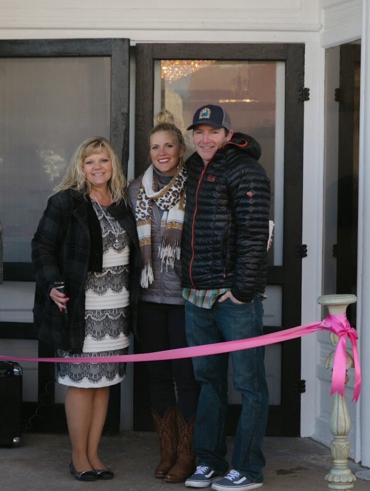 Tirzah Ribbon Cutting Ceremony - Jake and Whitney Roehl