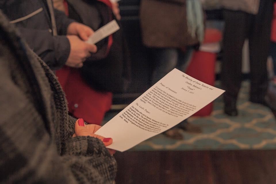 Tirzah Ribbon Cutting Ceremony - Pastor Heckmann Dedication