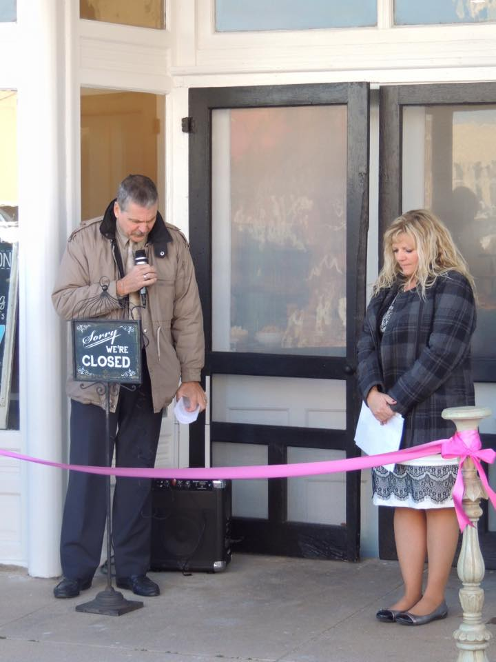 Tirzah Ribbon Cutting Ceremony - Pastor Heckmann Invocation